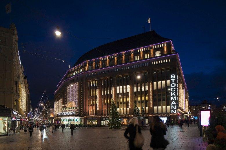 Главный финский Stockmann в Хельсинки